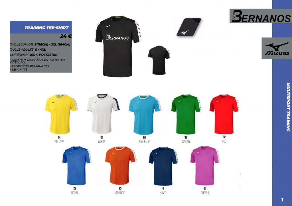 Catalogue T-shirt